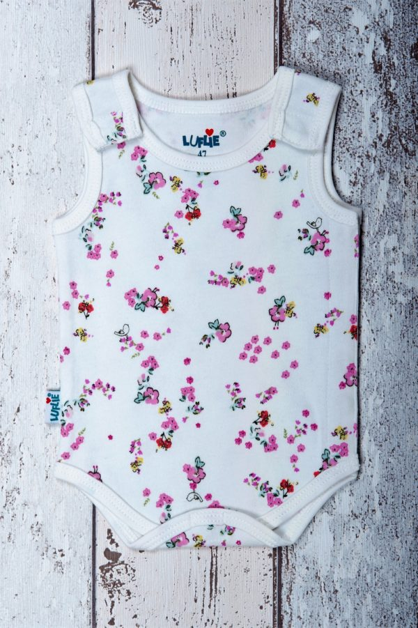 luflie romper happy birds